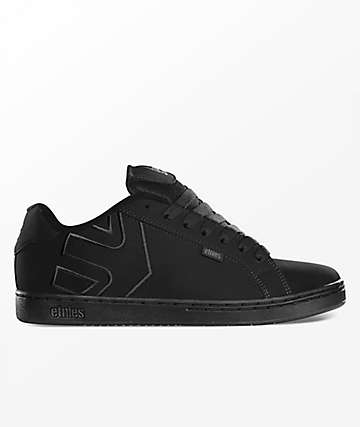 Etnies Fader Black Dirty Wash Shoes