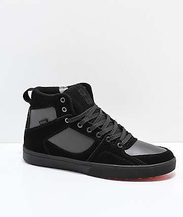 Etnies Harrison HTW Black, Dark Grey & Red Shoes