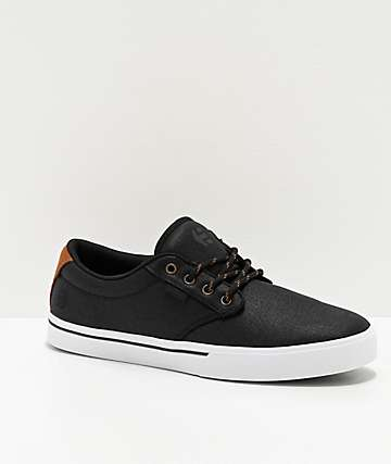 Etnies Jameson 2 Eco Black & Gold Skate Shoes
