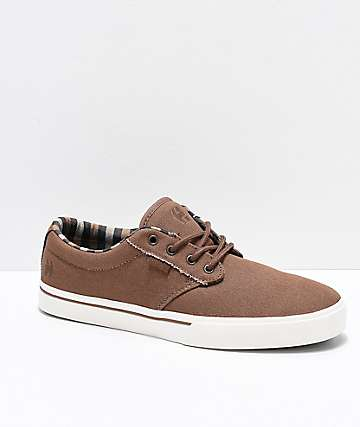 Etnies Jameson 2 Eco Chocolate & White Skate Shoes