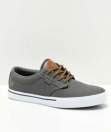 ca4ab60ae5 Etnies Jameson 2 Eco Grey   Brown Skate Shoes