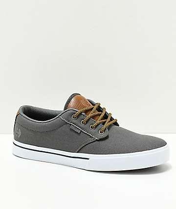 Etnies Jameson 2 Eco zapatos de skate en gris y marrón