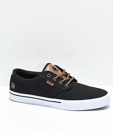 Etnies Jameson 2 Eco zapatos skate de lienzo negro