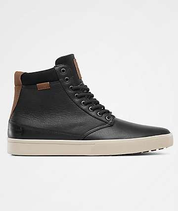 Etnies Jameson HTW Black, Grey & Yellow Shoes