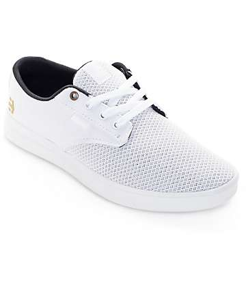Etnies Jameson SC White & White Shoes
