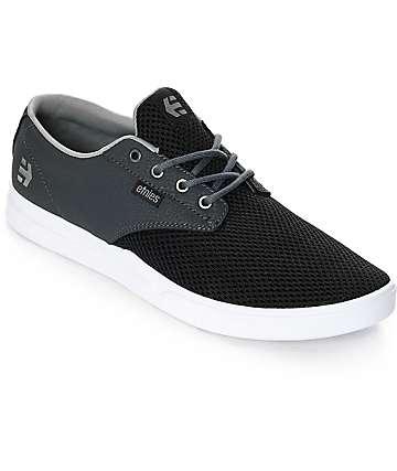 Zapatos negros Etnies Jameson infantiles