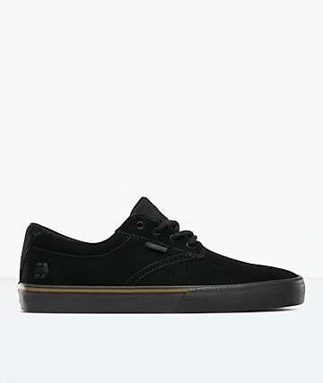 Etnies Jameson Vulc Black & Gum Skate Shoes