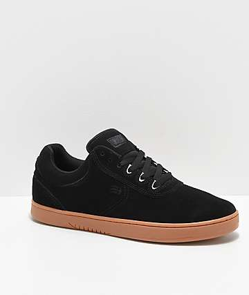 Etnies Joslin Black & Gum Skate Shoes