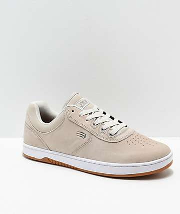 Etnies Joslin White & Gum Skate Shoes