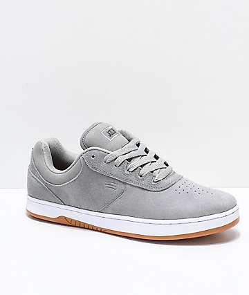 Etnies Joslin zapatos de skate en gris, blanco y goma