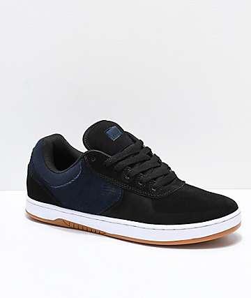 Etnies Joslin zapatos de skate en negro, azul marino y blanco