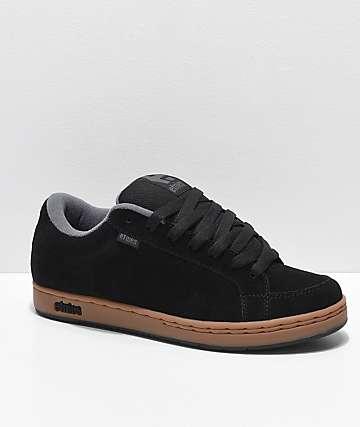 Etnies Kingpin zapatos de skate en negro, goma y gris