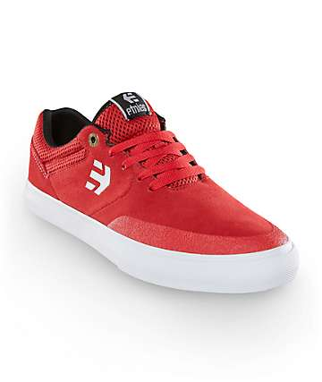 Etnies Marana Vulc Red Skate Shoes