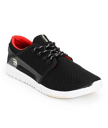 Etnies Scout Black Shoes