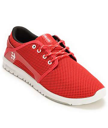Etnies Scout Red Shoes