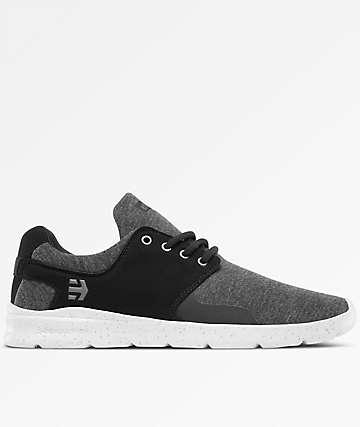 Etnies Scout XT Black, Grey & Silver Shoes