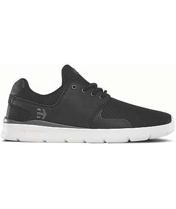 Etnies Scout XT Black & White Shoes