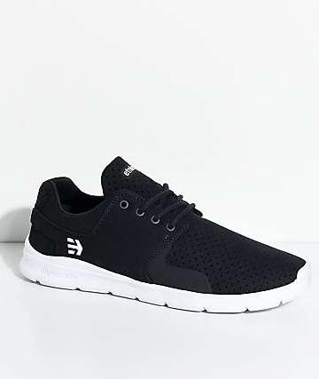 Etnies Scout XT zapatos de ante en blanco y azul marino