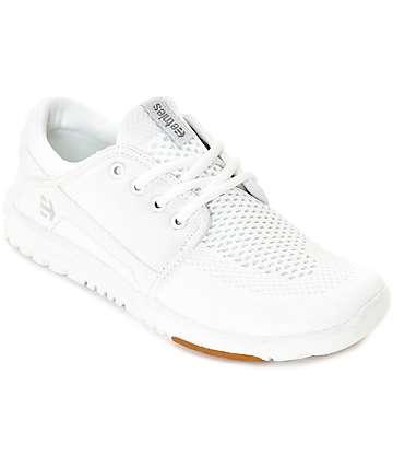 Etnies Scout Yarn Bomb zapatos blancos