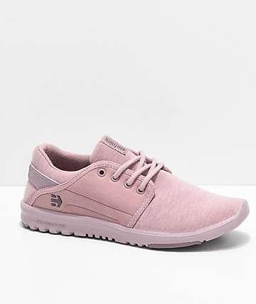 Etnies Scout zapatos de jersey rosa
