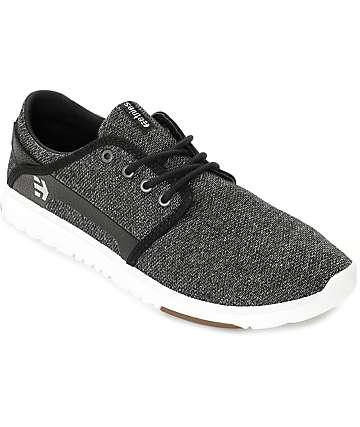 Etnies Scout zapatos en blanco y negro