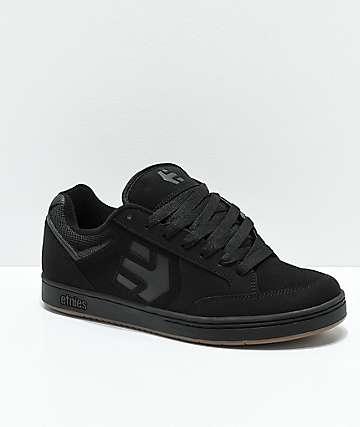 Etnies Swivel zapatos de skate en negro y goma
