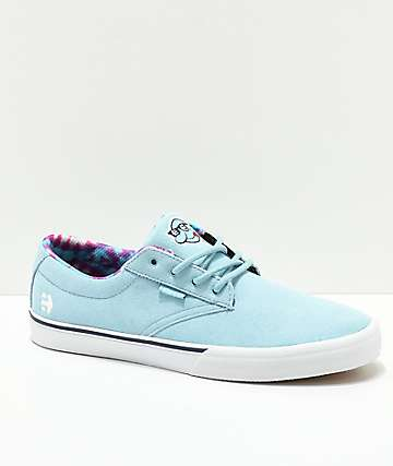 Etnies x Happy Hour Jameson Vulc Blue & White Skate Shoes