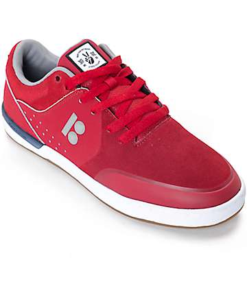 Etnies x Plan B Marana XT Red & White Skate Shoes