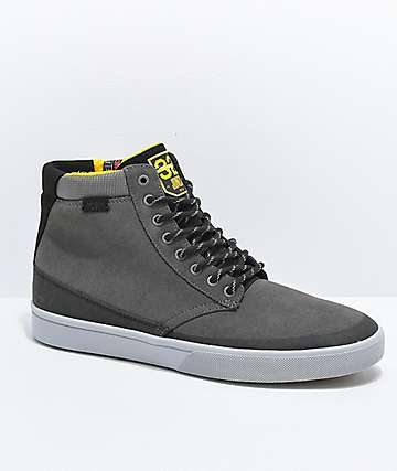 Etnies x ThirtyTwo Jameson HTW Grey & Black Shoes