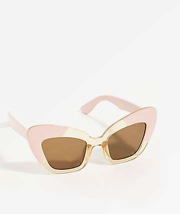 Extreme Cat Pink Sunglasses