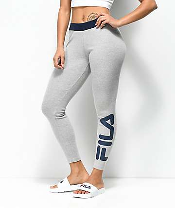 FILA Adele Light Grey Thermal Leggings