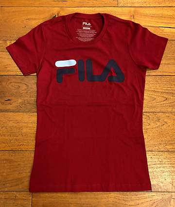 FILA Adele Rio Red & Navy T-Shirt