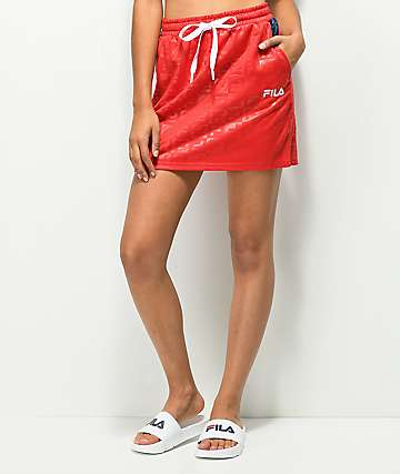 FILA Ambra Red Skirt