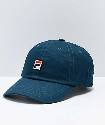 FILA Atlantic Deep Blue Strapback Hat