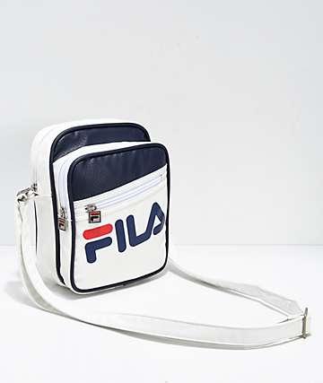 FILA Buster bolso de mano blanco