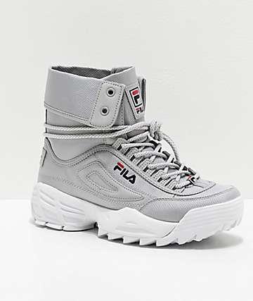 FILA Disruptor Ballistic White Boots