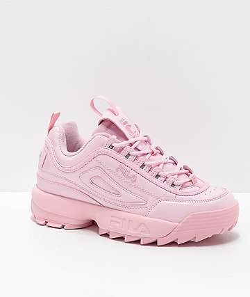0b674e0e26f FILA Disruptor II Premium Light Pink Shoes