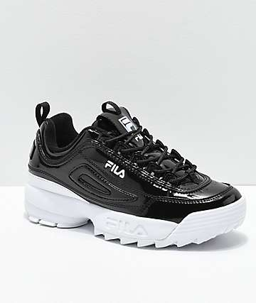 FILA Disruptor II Premium Patent Leather Shoes