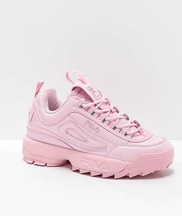 227f60dba2260 FILA Disruptor II Premium zapatos en rosa claro