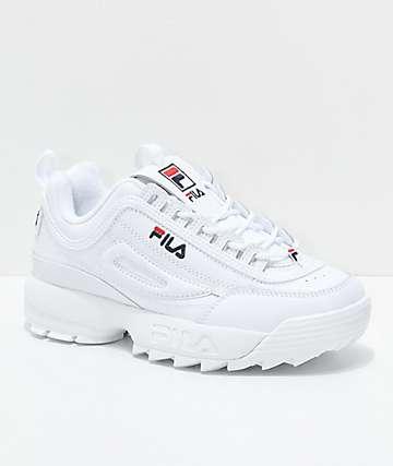 FILA Disruptor II zapatos blancos