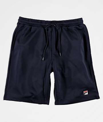 FILA Dominico shorts de punto azul marino