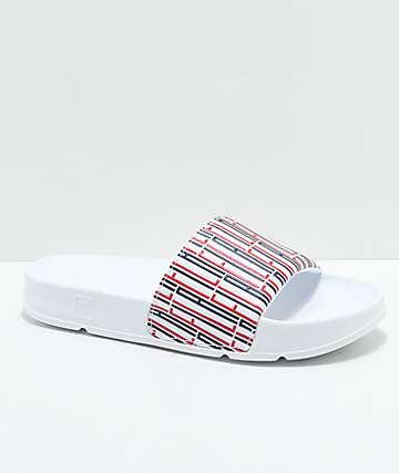 FILA Drifter Lia sandalias blancas con logotipos