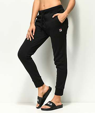 FILA Frances Black Joggers