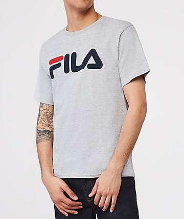 FILA Logo Grey T-Shirt