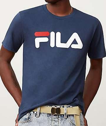 FILA Logo Navy T-Shirt