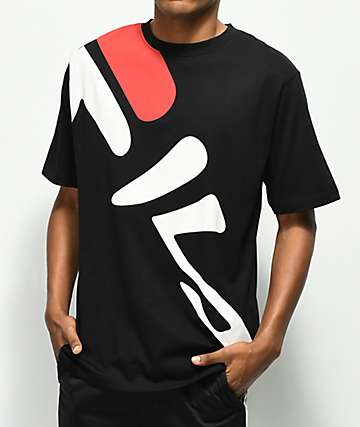 FILA Marcel Black T-Shirt