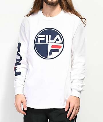FILA Mariner White Long Sleeve T-Shirt