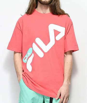 FILA Micah Peach Pink T-Shirt