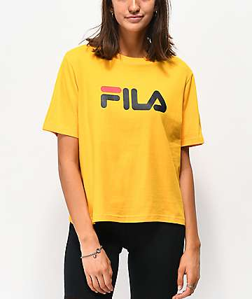 5d84fcfe9d204 FILA Miss Eagle Gold T-Shirt