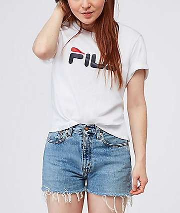 FILA Miss Eagle White T-Shirt